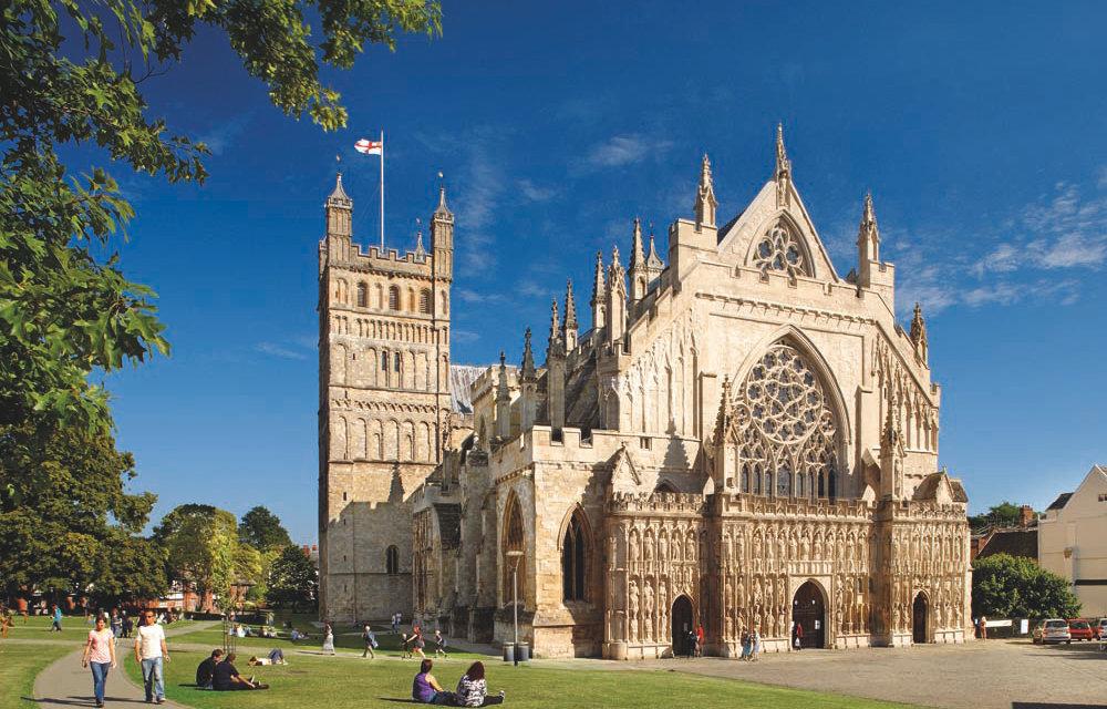 Visit Exeter Cathedral - Kiddicott Farm